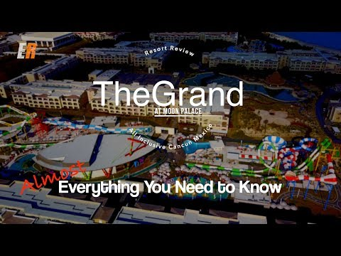 4K 2018 The Grand at Moon Palace Review — LUXURY AND VALUE?