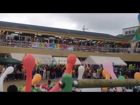 石岡幼稚園の48回運動会の最後のイベント