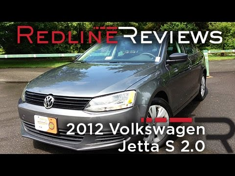2012 Volkswagen Jetta S 2.0 Review, Walkaround, Exhaust, & Test Drive