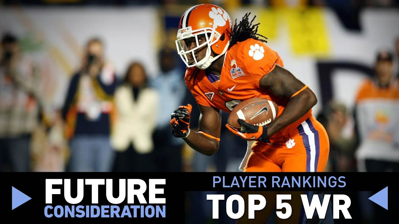 2014 NFL Draft wide receiver rankings (Future Consideration) thumbnail