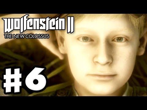 Wolfenstein II: The New Colossus - Gameplay Walkthrough Part 6