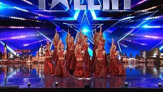 Britain's Got Talent 2019 Fabulous Sisters Dance Troupe Full Audition S13E01