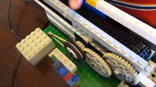 Ryan's Lego Reduction Gear Conveyor Belt