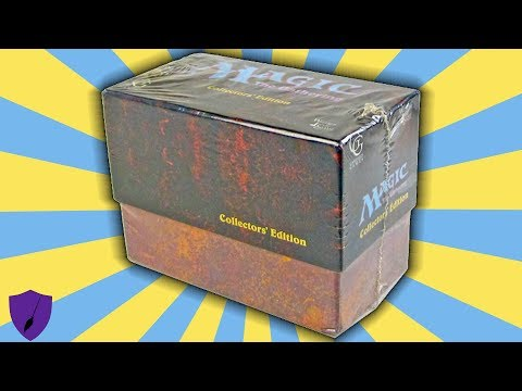 EVERY CARD EVER PRINTED INSIDE!! –  THE MOST VALUABLE MAGIC: THE GATHERING BOX SET IN THE WORLD