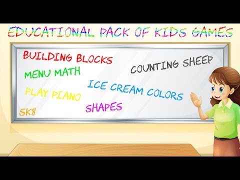 Educational Pack of Kids Games Wii U eShop Let's Play thumbnail