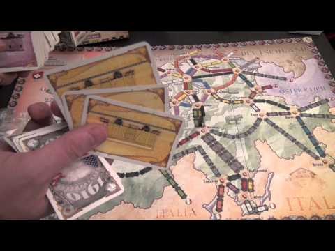 Dice Tower Reviews: Ticket to Ride Maps: India and Switzerland