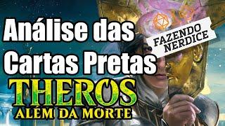 Análise Das Cartas Pretas De Theros Além Da Morte - #MTGTheros