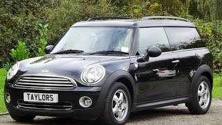 preview picture of video 'Mini Clubman 1.4 One now sold by Taylors Pitstop Garage in Horley West Sussex'