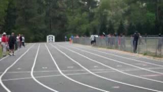 My Daughter running the 400 meter dash