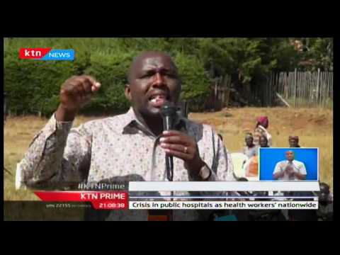 KTN Prime: KANU chairman seeks to clarify his differences with Deputy President William Ruto