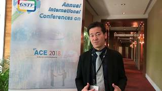 Prof. Hiroki Tamai at ACE Conference 2018 by GSTF Singapore
