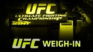 UFC MUNOZ vs WEIDMAN Weigh In LIVE