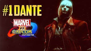 MVCI▰ Cloud805 The #1 UMVC3 Dante Is Rank #1 On Marvel Infinite
