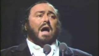 Luciano Pavarotti and Andrea Griminelli:Non ti scordar di me