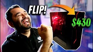 Making $430 In A Day - PC FLIPPING!