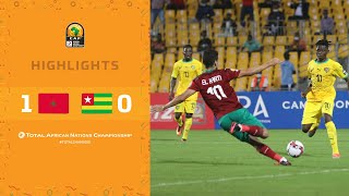 CHAN 2020 | 1er tour – Groupe C : Maroc 1-0 Togo