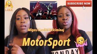 Migos, Cardi B, Nicki Minaj   Motorsport   REACTION