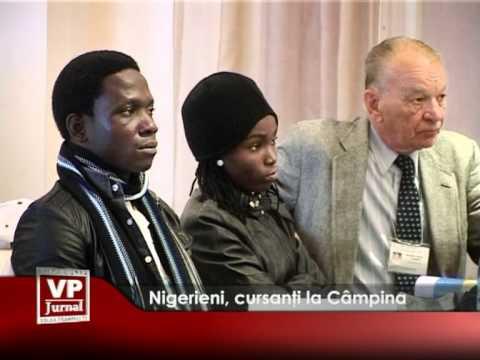 Nigerieni, cursanți la Câmpina