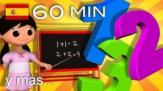 Canciones para aprender los colores, los números, las formas   Y muchas más   ¡LittleBabyBum!