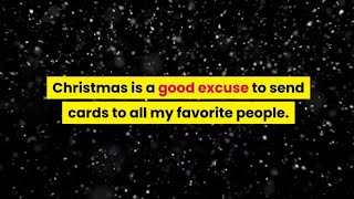 Christmas Messages to Write in Holiday Greeting Cards|Mortensen QUOTES