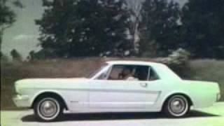 FILM FRIDAY: Classic 1965 Ford Mustang Commercials