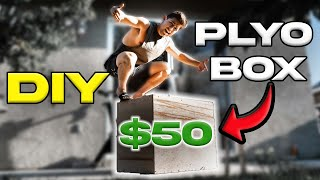 How To Build A Plyo Box | No Cutting Required | DIY Garage Gym Equipment
