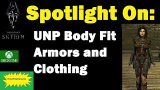Skyrim (mods) - Hope - Spotlight On: UNP Body Fit Armors and Clothing