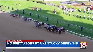 No fans allowed at this year's Kentucky Derby, Churchill Downs says