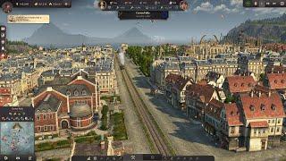 ANNO 1800 Sunken Treasures #23 FINALLY: The LONGEST Train yet! || DLC English Let's Play City