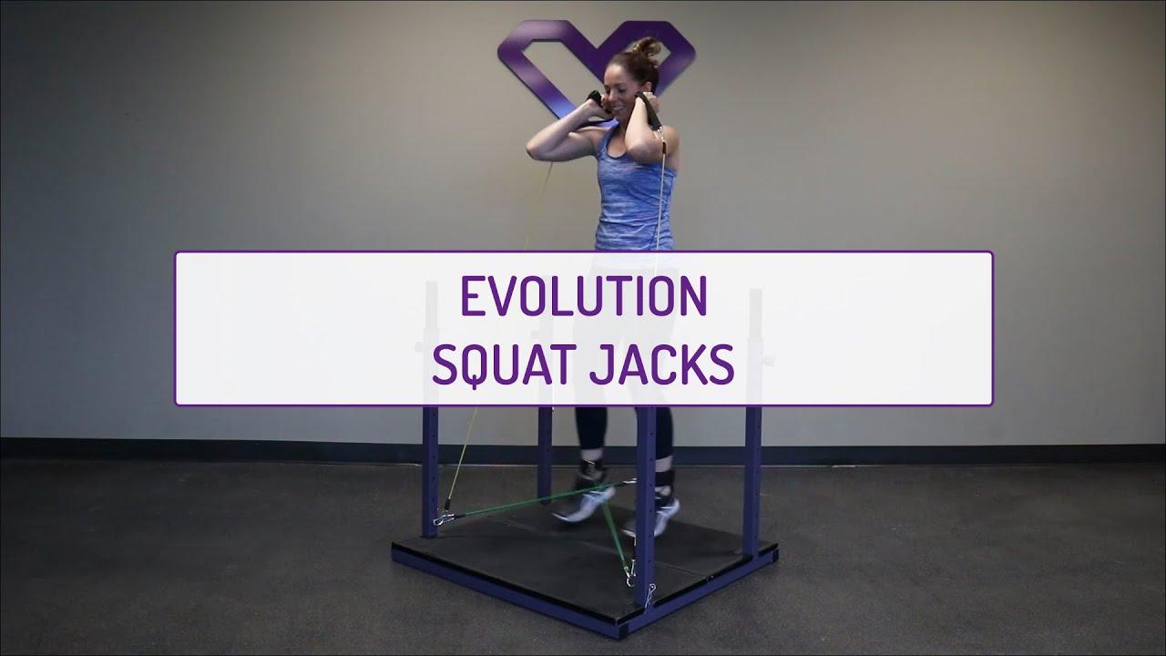 Evolution Squat Jacks