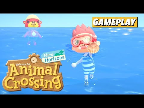 Swimming and Diving In Animal Crossing: New Horizons
