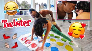 PLAYING TWISTER WITH INSTAGRAM BADDIE HIMYNAMESTEE *SHE KISSED ME*