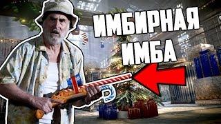 Дед, Имбовое ружье, новогодний ангар в варфейс