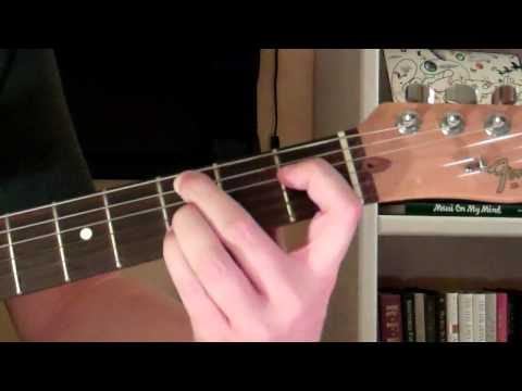 How To Play the Cm9 Chord On Guitar (C minor ninth) 9th