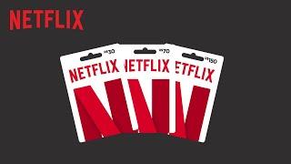 Cartão Netflix R$ 40 Reais