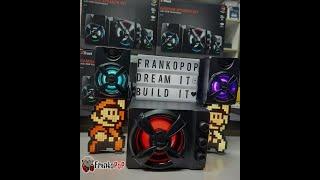 Ηχεία Tust Ziva 2.1 RGB Greek Unboxing - Review by FrankoPoP