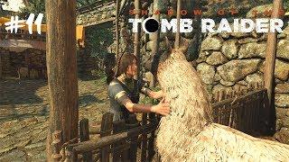 Průzkum města a mají tam lamy! :D #11 [Shadow of the Tomb Raider]