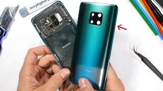 Huawei Mate 20 Pro Teardown - Whats under the Musical Back?