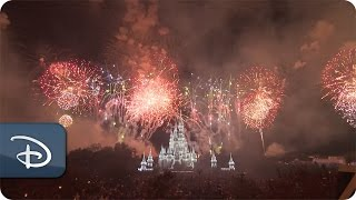 Fantasy in the Sky - New Year's Eve 2016 at Magic Kingdom