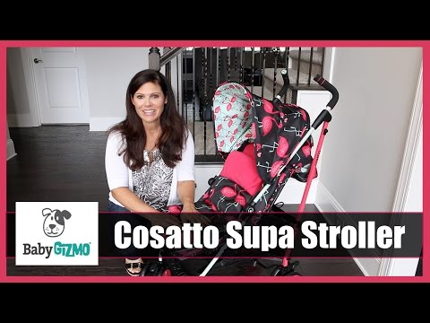 Cosatto Supa Umbrella Stroller Review by Baby Gizmo