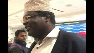 Self declared NRM general Miguna Miguna is expected in Kenya today