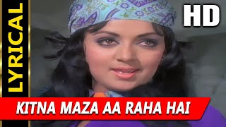 Kitna Maza Aa Raha Hai With Lyrics Lata Mangeshkar   Raja
