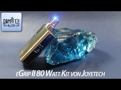 YouTube Video zu Joyetech eGrip II Starterset 80 Watt 2100 mAh 3.5 ml