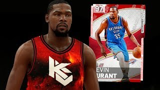 af699b809eaf Pink Diamond Kevin Durant Gameplay! He s Overpowered! Nba 19 Myteam
