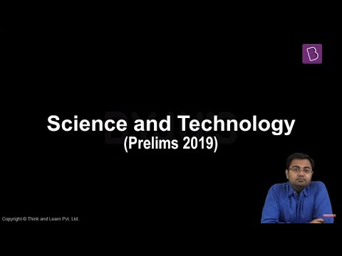 Prelims 2019: GS Paper I Discussion (Science and Technology)