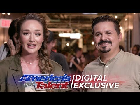 Elimination Interview: Pompeyo Family Dogs Send Love To Their Supporters - America's Got Talent 2017 (видео)