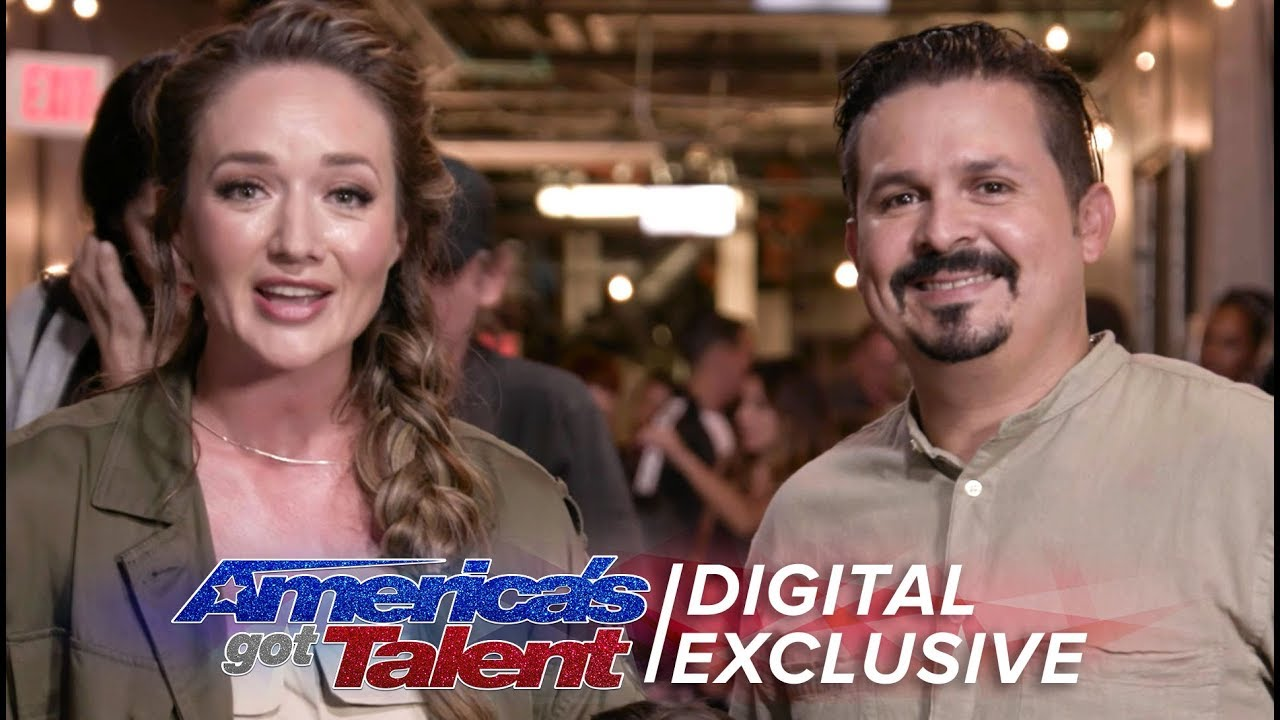 Elimination Interview: Pompeyo Family Dogs Send Love To Their Supporters - America's Got Talent 2017 thumbnail