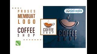 Cara Membuat Design Logo COFFEE SHOP Di CorelDraw X7
