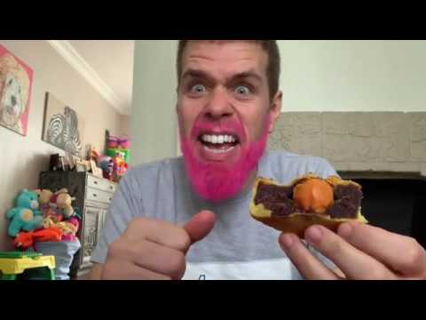 Moon Cake Mukbang! Mouth And Brain EXPLOSION!   Perez Hilton And Family
