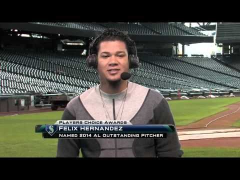 Felix on winning 2014 AL Outstanding Pitcher award